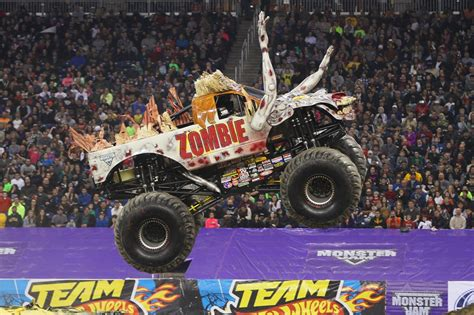 zombie monster truck videos zombie monster truck jump the news wheel