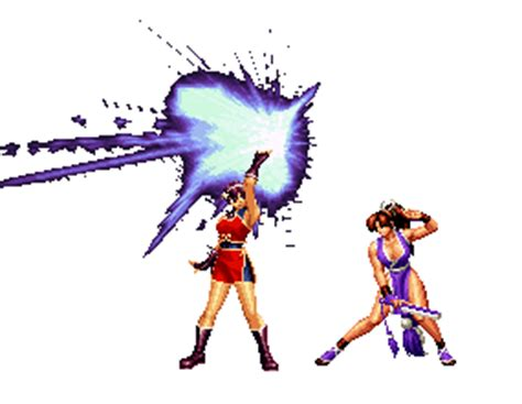imagenes con movimiento de king of fighter 2002 kof athena and mai gif id 2139 gif abyss
