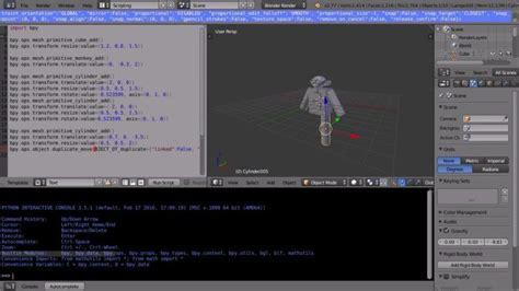 tutorial python blender blender tutorial introduction to python scripting writing