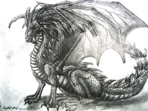 drawings hard sketches dragon drawing by dragontu84 on deviantart