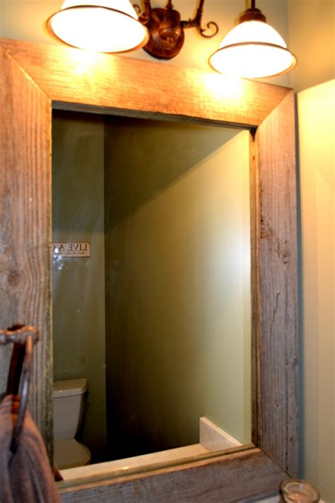 How To Build A Frame Around A Bathroom Mirror How To Build Wood Mirror Frame Pdf Woodworking