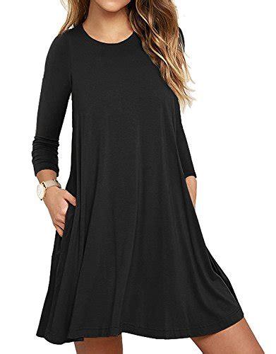 swing kleid schwarz lang mode lilbetter g 252 nstig kaufen bei fashn de