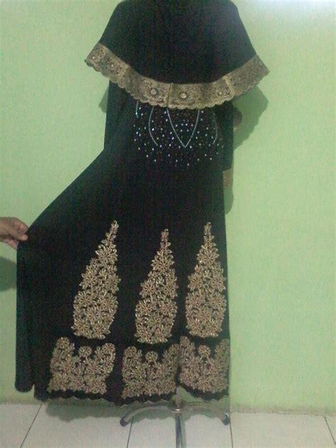 Jodha Akbar Hitam gamis jodha akbar hitam plus jilbab baju pesta busana