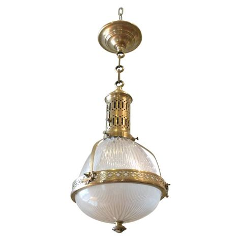 pair of french bistro hanging lights at 1stdibs