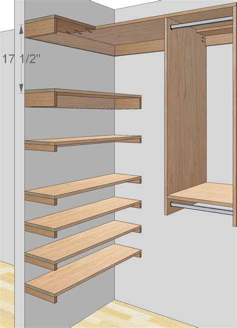 woodworking plans  build  custom closet organizer