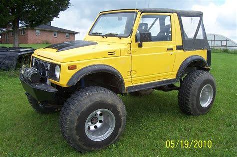 Suzuki V8 1988 Suzuki Samurai V8 6 500 100288575 Custom Jeep