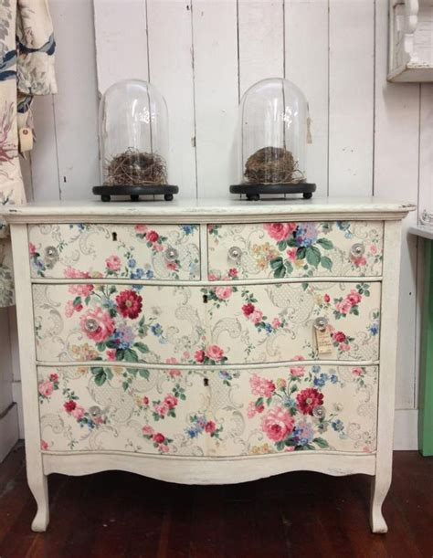 decoupage furniture with wallpaper 190 best images about decoupage furniture on