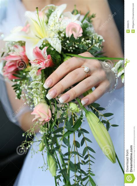 Wedding Bunch Of Flowers by Wedding Bunch Of Flowers Royalty Free Stock Photo Image