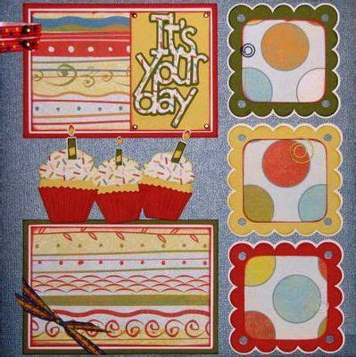 google layout scrapbook disney birthday scrapbook and birthday scrapbook pages on