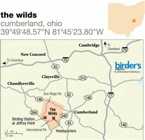 the wilds 55 the wilds cumberland ohio birdwatching