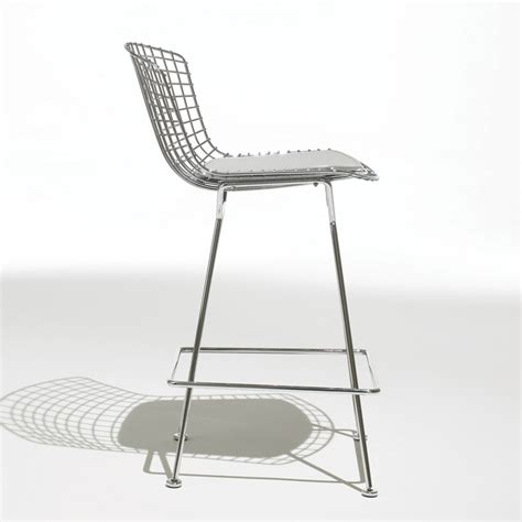 Cuscini Per Sgabelli by Knoll Sgabello Bar Con Cuscino Bertoia Myareadesign It