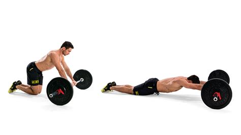 the barbell roll out is the advanced abs exercise you ve been looking for coach