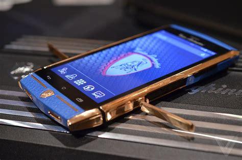 Lamborghini Phone Price This 6 000 Lamborghini Smartphone Is The Verge
