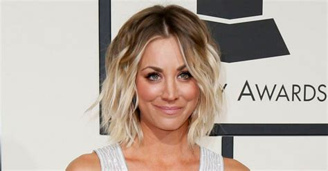 how does kaley cucco style her hair how to get kaley cuoco s tousled grammy awards hairstyle