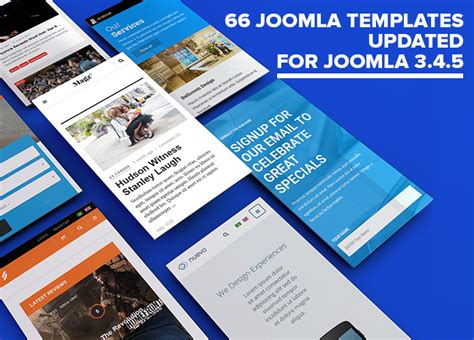 themes joomla 3 4 66 joomla templates updated for joomla 3 4 5 joomla