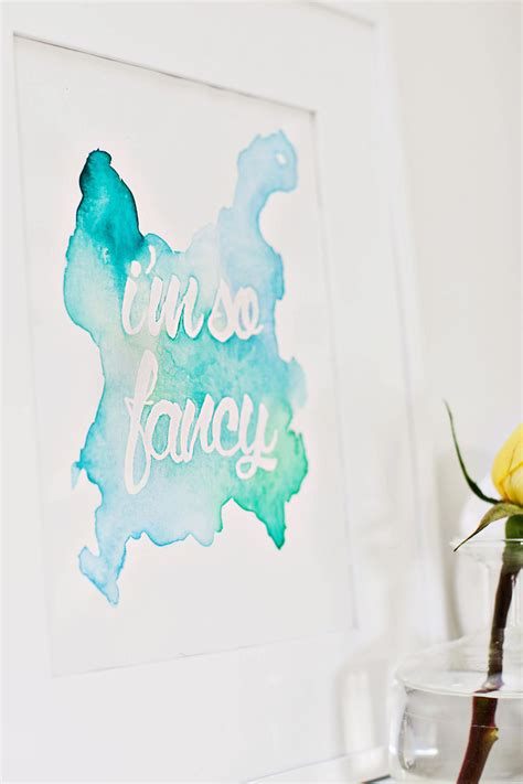 watercolor diy diy watercolor wall takuice