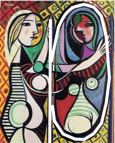 picasso paintings meaning epph picasso s before a mirror 1932