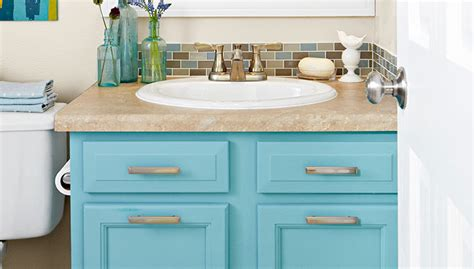 how to paint an old bathroom vanity paint a bath vanity