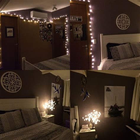 bedrooms with lights tumblr diy room on tumblr