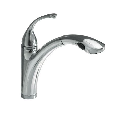 Kohler Forte Pull Out Kitchen Faucet Faucet Com K 5814 4 K 10433 Bv In Brushed Bronze Faucet