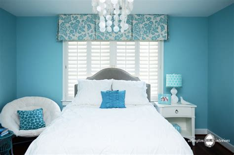 aqua girls bedroom ocean inspired aqua girls bedroom transitional