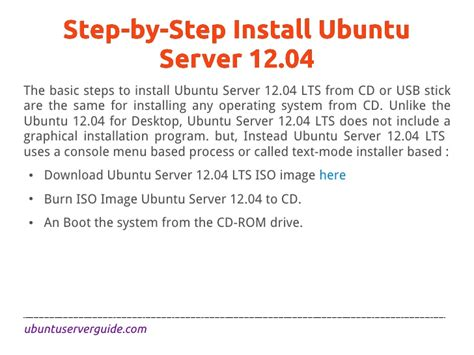 installing ubuntu server step by step how to install ubuntu server 12 04 lts precise pangolin