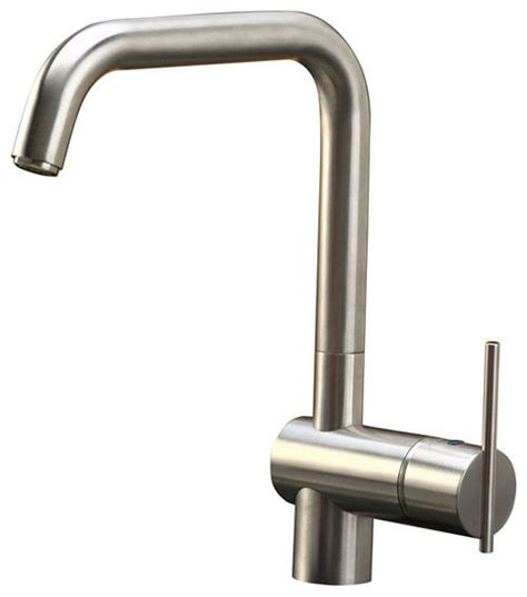 contemporary kitchen faucet elkay allure lever single handle kitchen faucet