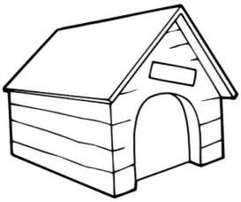 Coloring Pages Freecoloringpa Twitter Dog House  sketch template