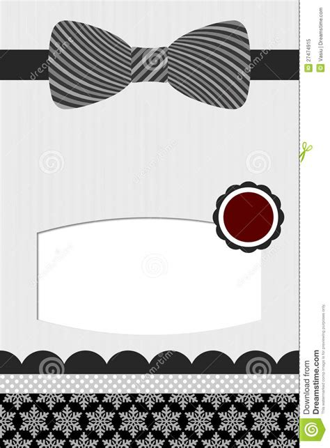 bow tie template royalty free stock photo image 27474915