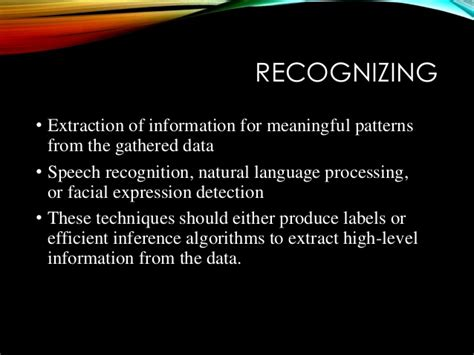 pattern recognition natural language processing emotion recognition