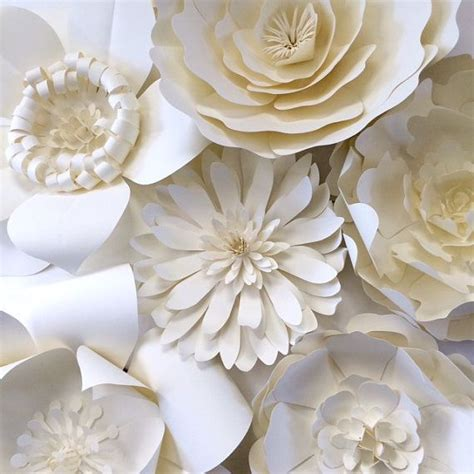 Big Paper Flowers - paper flower wall decor large paper flower backdrop by