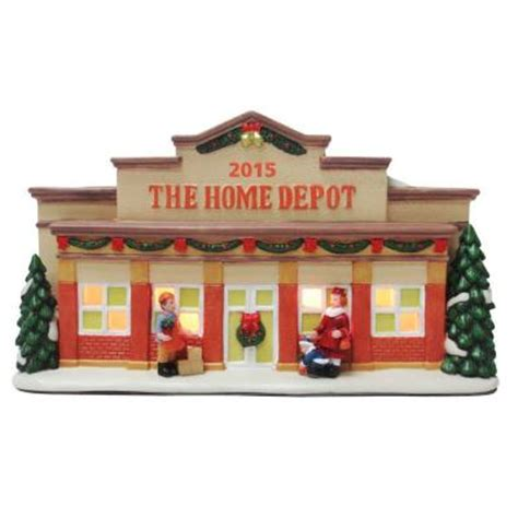open house signs home depot home accents holiday pre lit home depot village house nm x15012aa the home depot