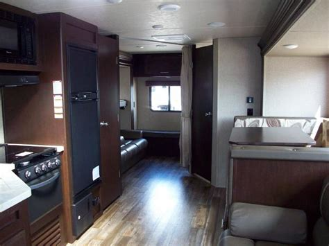 Trailer Of Room New 2017 Grey Wolf 27dbs Travel Trailer With Bunk Room
