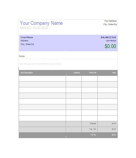 Invoice Templates 15 Free Word Pdf Documents Download Cashboard Invoice Template