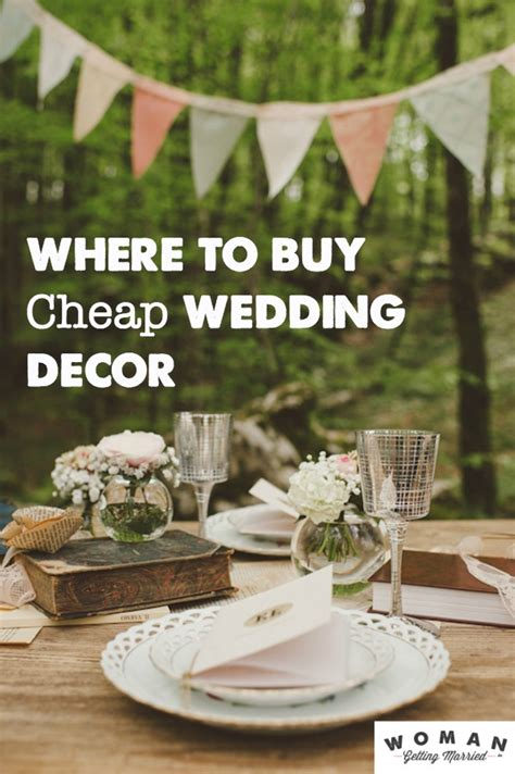 where to buy cheap home decor online cheap wedding decorations that are still awesome