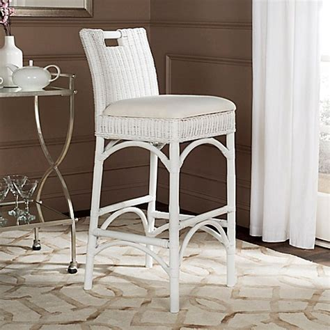 bed bath and beyond fremont safavieh fremont woven bar stool bed bath beyond