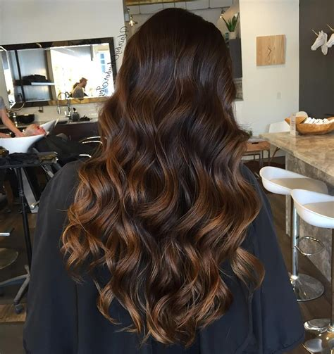caramel hair colour on 60 year old caramel highlights on black hairs 60 balayage hair color