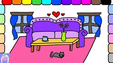 living room how to draw a living one point perspective learn how to draw barbie s living room with this easy