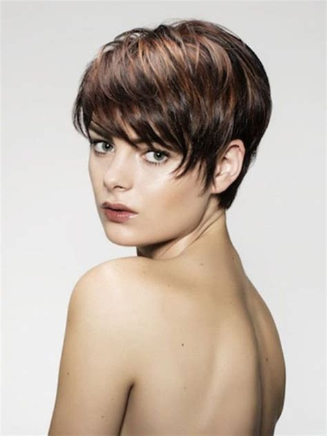 einfache le 17 best images about kurzhaarfrisuren damen on