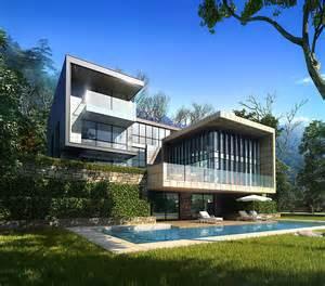 3d villa 022 3d model max cgtrader com