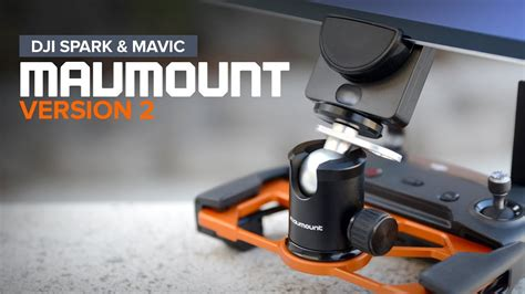 Mavic Pro Tablet Holder V2 mavmount version 2 dji mavic pro platinum and spark