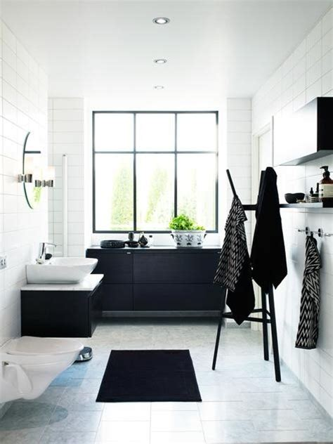 Bathroom Black And White Ideas by Picture Of Black And White Bathroom Design Ideas