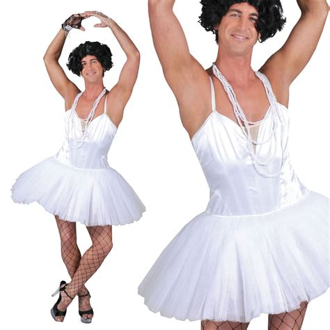 Dress Ballerina mens ballerina dancer dress costume stag hen do