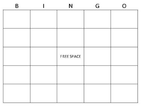 bingo card template generator bingo card generator our bingo card generator is free