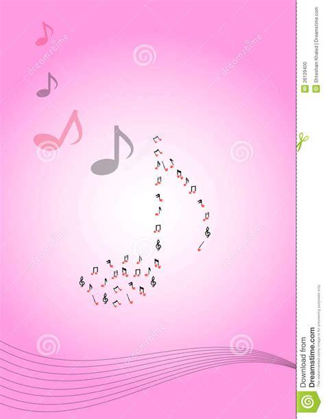imagenes de notas musicales en colores collage detallado de todas las notas musicales stock de