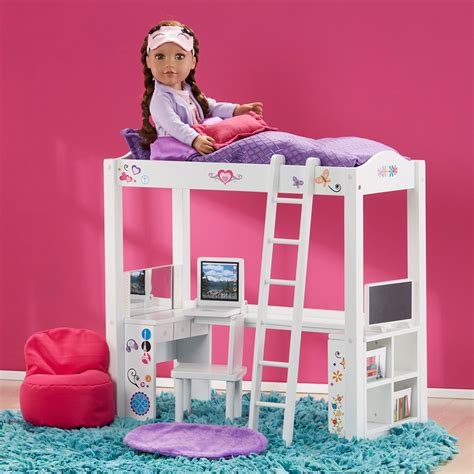 journey girl bed journey girls wood bed and desk combo new ebay