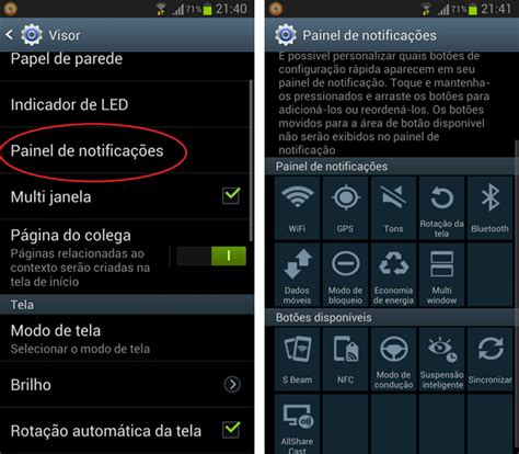 icones barra superior android modifique as op 231 245 es da barra de notifica 231 245 es do galaxy s3
