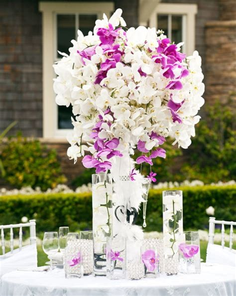 wedding table flower centerpieces pictures orchid centerpiece for wedding reception archives weddings romantique