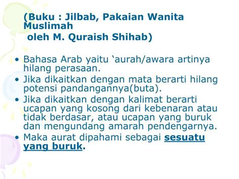 Buku Jilbab Wanita Muslimah ppt menutup aurat itu wajib powerpoint presentation id