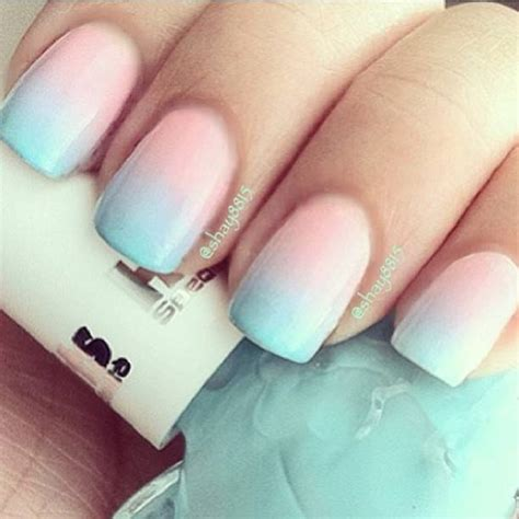 ombre nail design cotton candy ombre nails nail designs picture